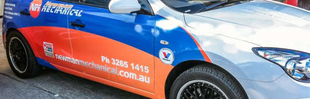 Newman Mechanical – Vehicle Wrap