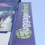 Luggage Direct Banner flag
