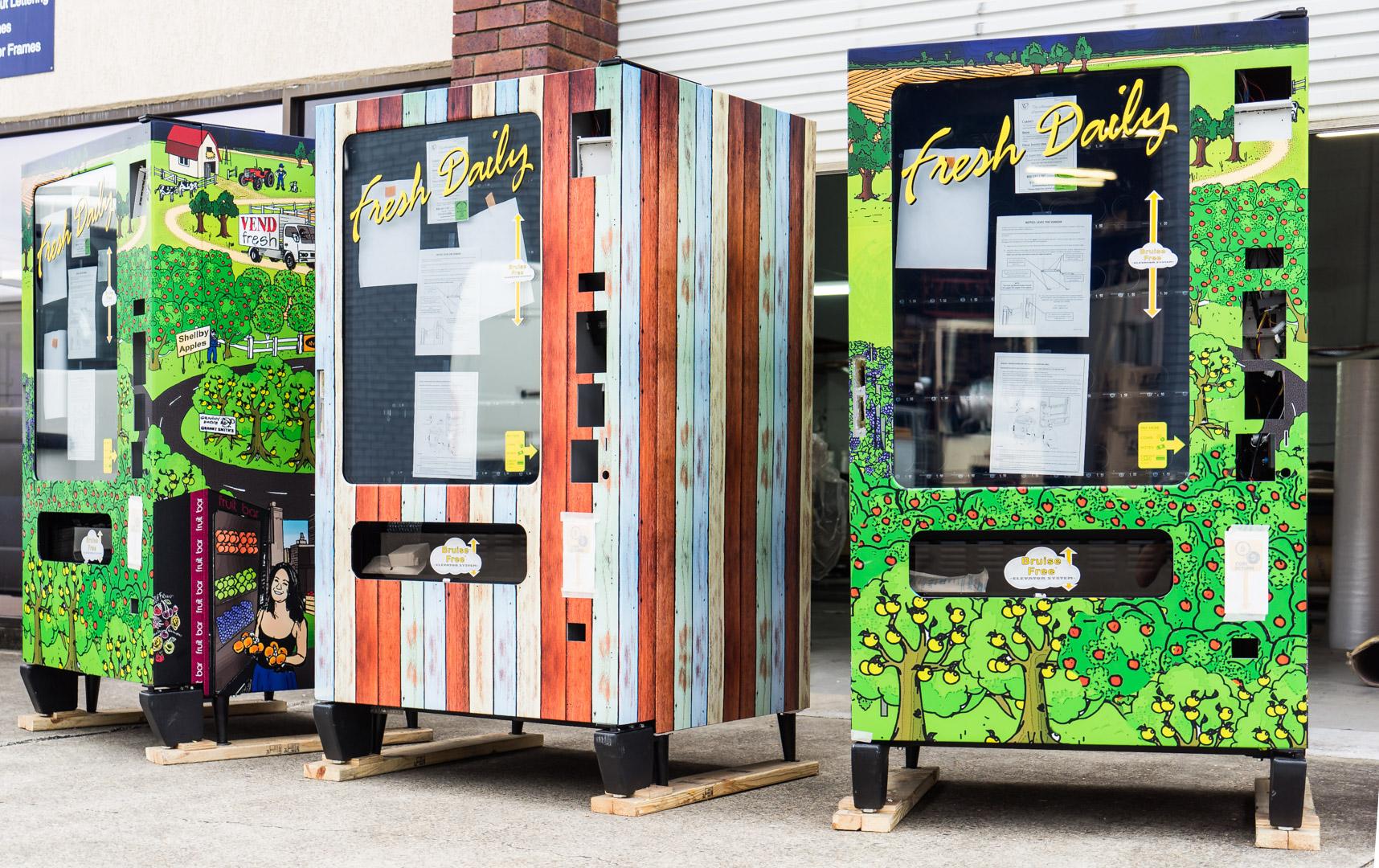 vending machine wraps